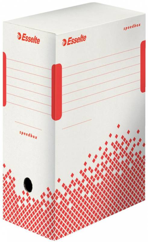 Image of   Arkivæske Esselte Speedbox 150mm hvid