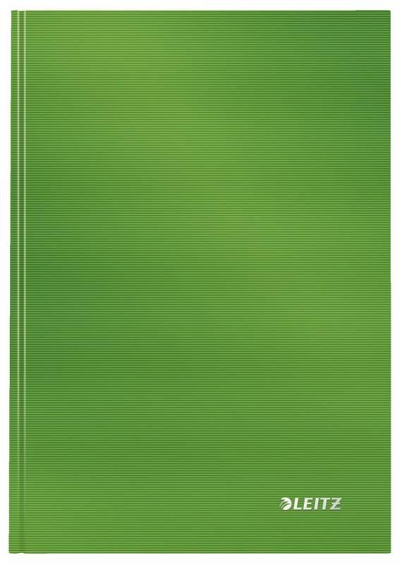 Notesbog Leitz Solid A5 lysegrøn hard linieret 80ark