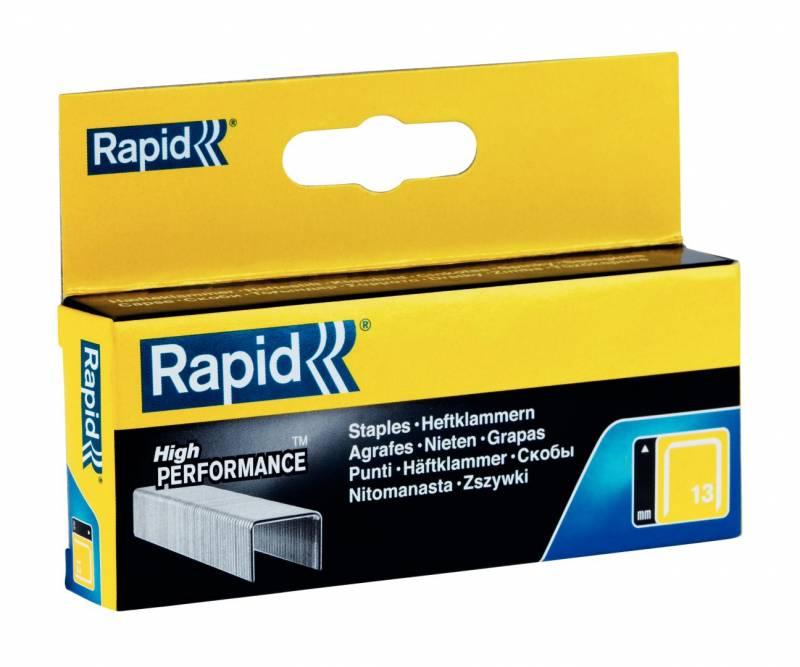 Image of   Hæfteklammer Rapid Tools 13/4 galvaniserede 2500stk/pak