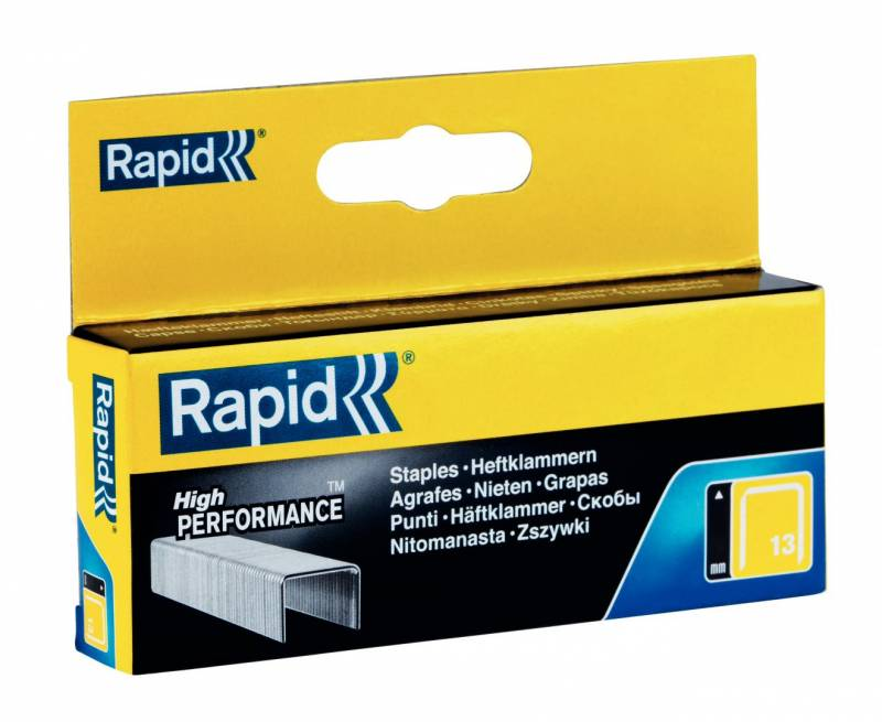 Image of   Hæfteklammer Rapid Tools 13/6 galvaniserede 2500stk/pak