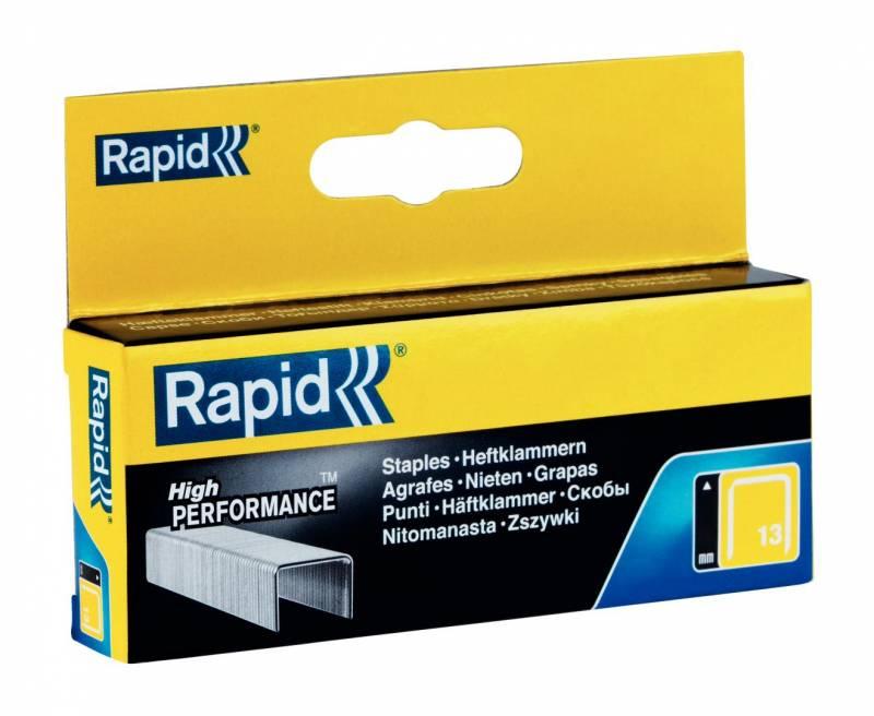 Image of   Hæfteklammer Rapid Tools 13/10 galvaniserede 2500stk/pak