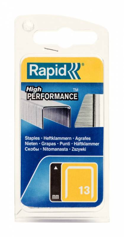 Image of   Hæfteklammer Rapid Tools 13/10 galvaniserede 1100stk/pak