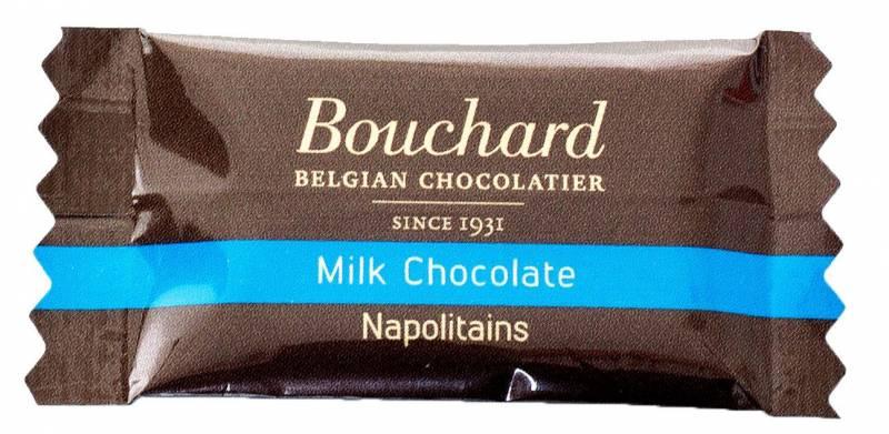 Image of   Chokolade Bouchard lys 5g flowpakket 1kg/pak