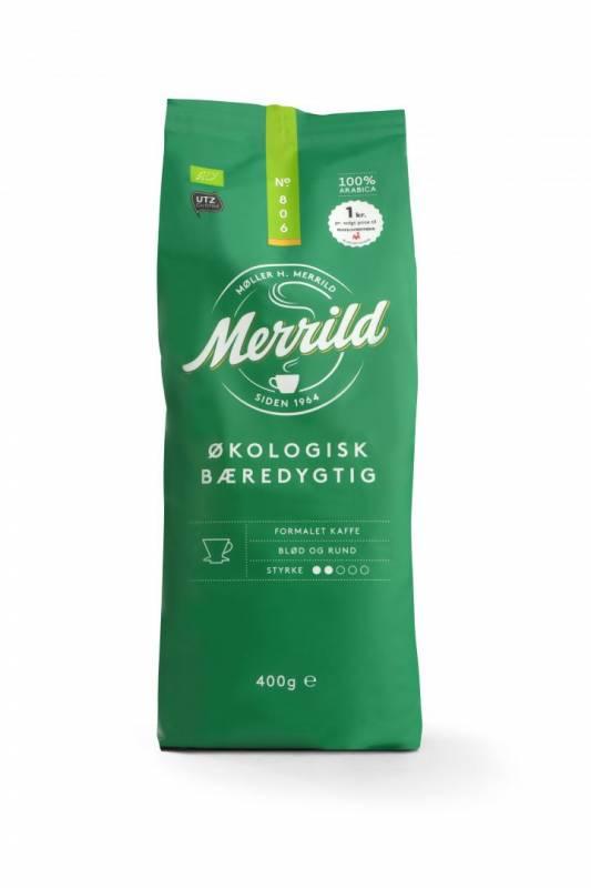 Image of   Kaffe Merrild Økologisk 400g/ps