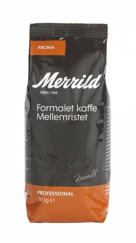 Image of   Kaffe Merrild Aroma 500g/ps