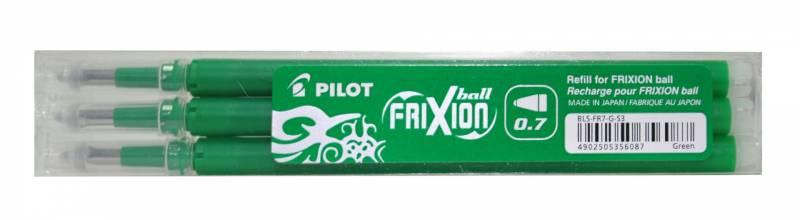 Image of   Refill Pilot Frixion grøn medium 3-pack