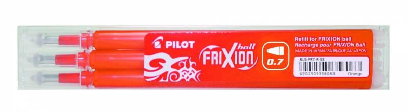 Image of   Refill Pilot Frixion orange medium 3-pack