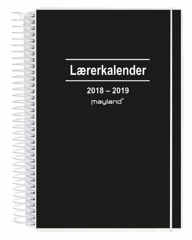 Lærerkalender A5 2i1 15x21cm uge højformat 19 8130 10