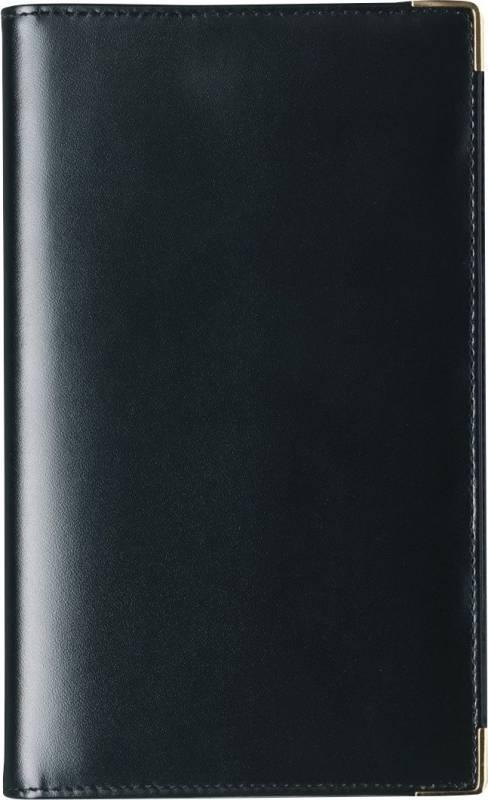 Image of   WeekPlanner uge højformat kunstskind sort 9,5x17cm 19 0860 00