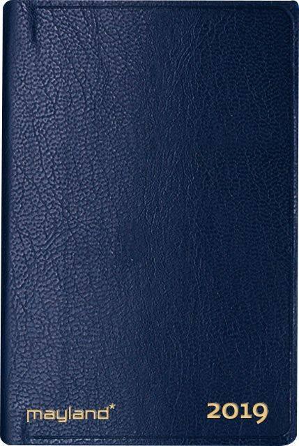 Image of   Lommekalender uge indb. kunstskind blå 7x11cm tværform. 19 1620 00