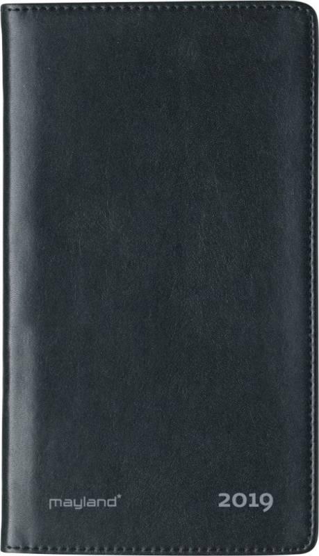 Image of   Weekplanner International uge kunstskind sort 9,5x17cm højformat 19 1760 10