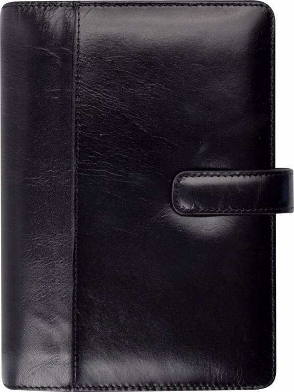 Ugekalender System PP skind sort 9,5x17cm højformat 19 2711 00