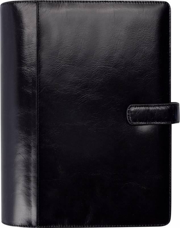 Ugekalender System A5 skind sort 15x21cm højformat 19 2921 20