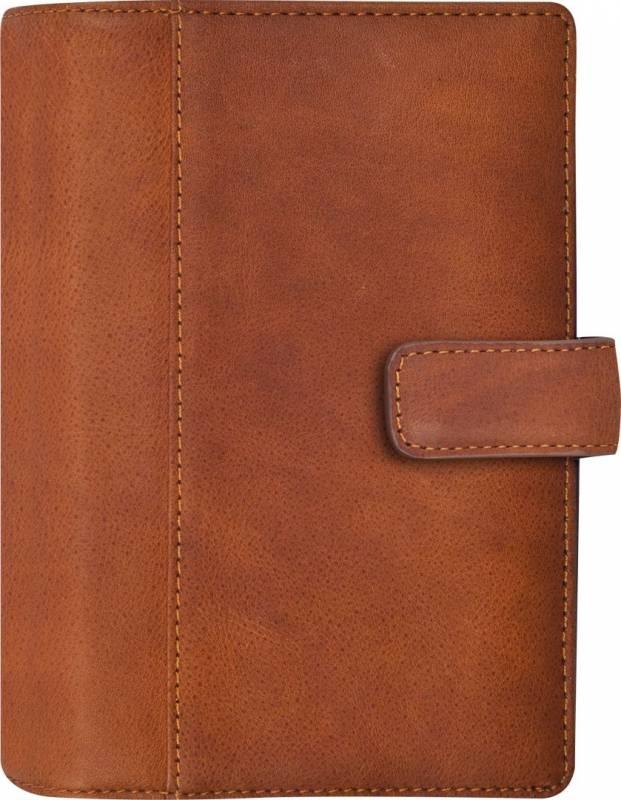 Ugekalender System Mini skind brun 8x12,6cm tværformat 19 3523 00