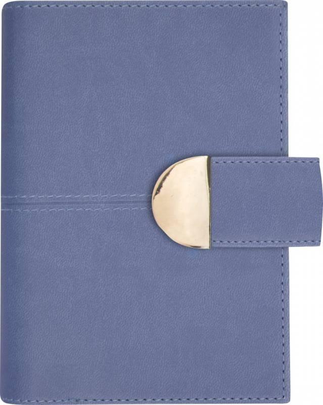 Image of   Ugekalender System Mini kunstskind blå trend 8x12,6cm tværformat 19 3524 00