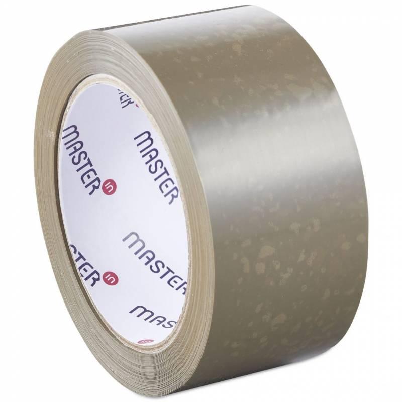 Image of   Tape MasterIn PP28 brun solvent 48mmx66m støjsvag