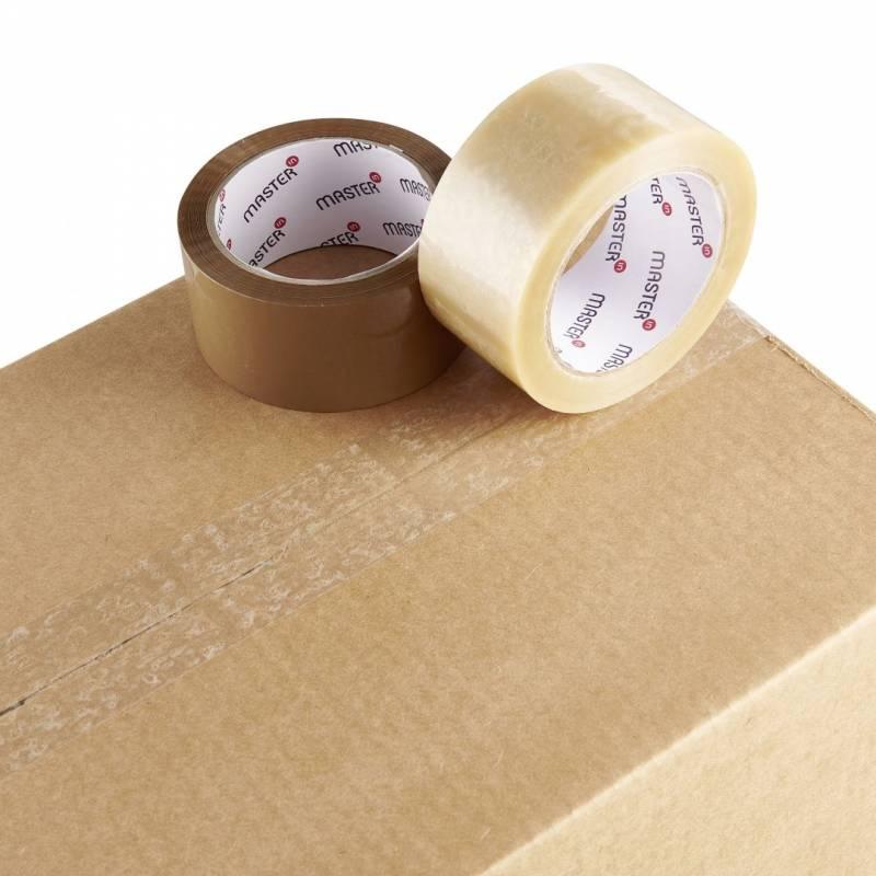 Image of   Tape MasterIn PVC32 hvid solvent 48mmx66m støjsvag