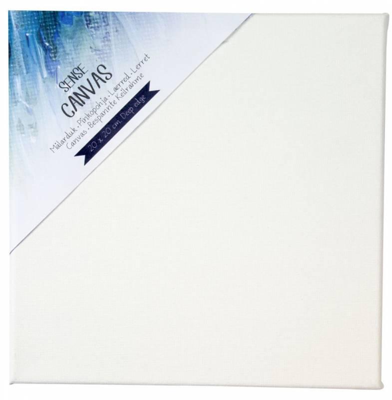 Image of   Lærred Sense Artist Canvas 20x20cm m/bred ramme