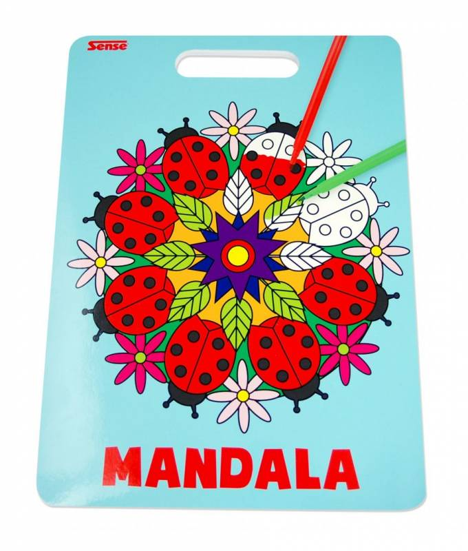 Image of   Malebog Sense Mandala 20x27,5cm 36 sider