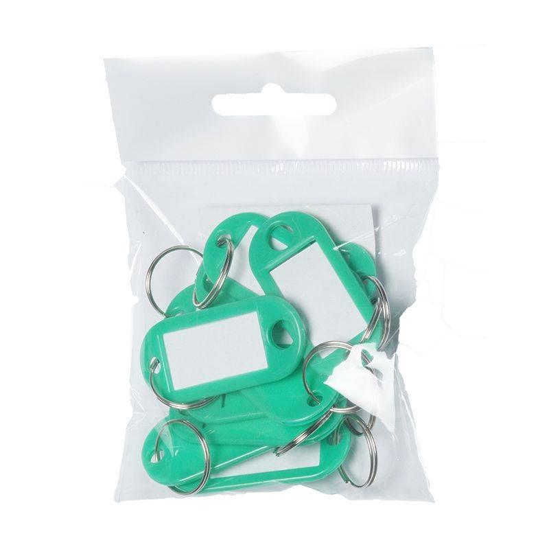 Image of   Nøgleskilte BNT plast PET grøn