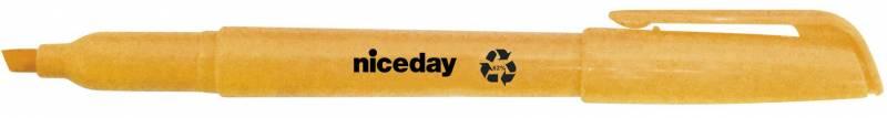 Image of   Tekstmarker niceday orange penneform