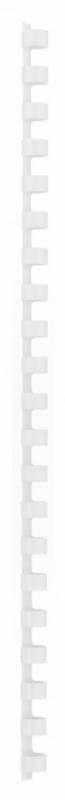 Billede af Spiralrygge 10mm Office DEPOT hvid A4 100stk/pak 41-55 ark