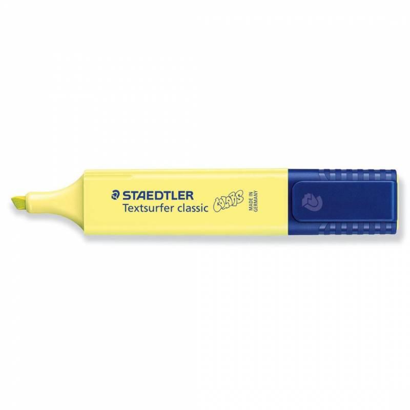 Image of   Tekstmarker STAEDTLER 364 pastel lys gul Textsurfer Classic