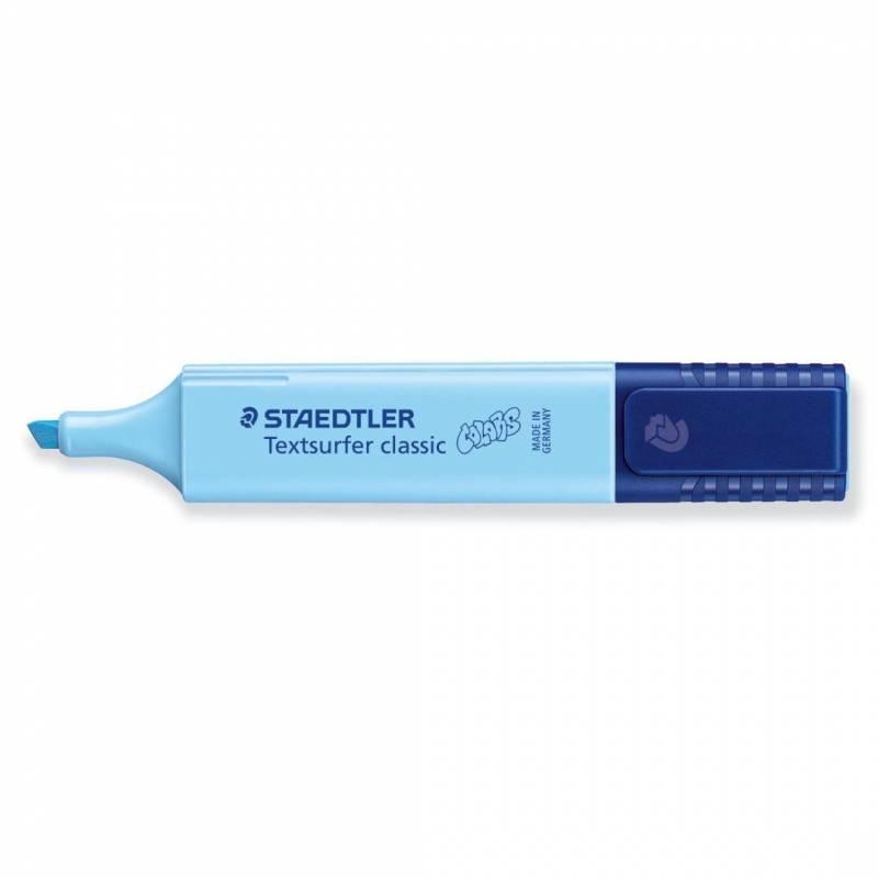 Image of   Tekstmarker STAEDTLER 364 vintage lys blå Textsurfer Classic