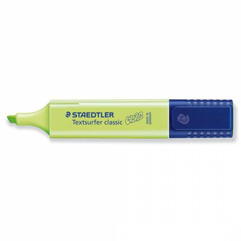Image of   Tekstmarker STAEDTLER 364 pastel lime grøn Textsurfer Classic