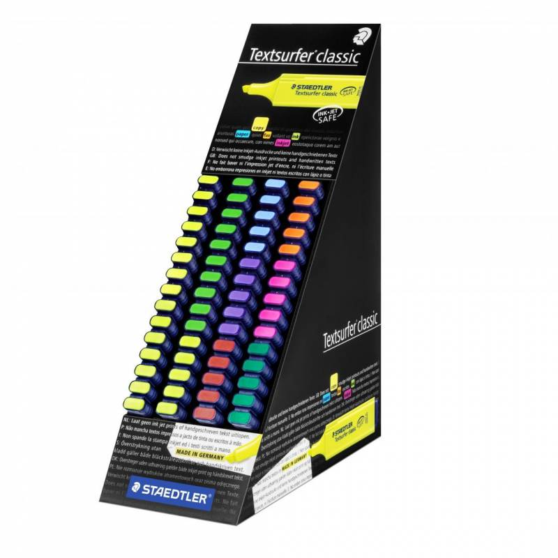 Image of   Tekstmarker STAEDTLER 364 Display assorteret 60stk