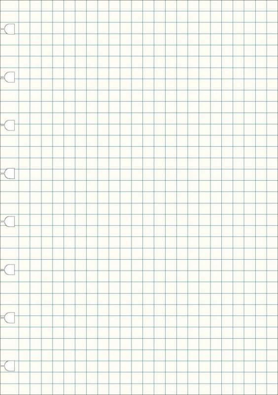 Image of   Kalenderrefill Filofax Notebook A5 kvadreret 100g 32bl/pak