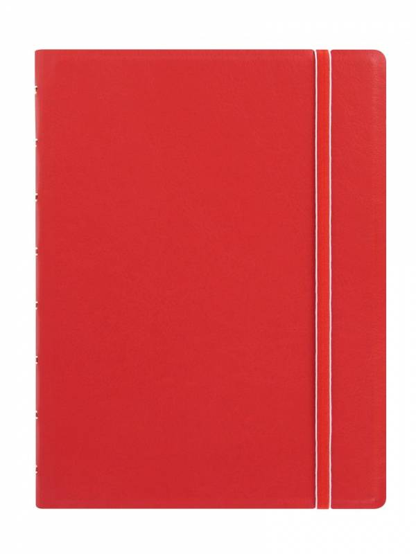 Image of   Notebook Filofax A5 rød incl linierede blade