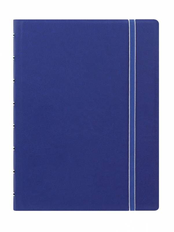 Image of   Notebook Filofax A5 blå incl linierede blade