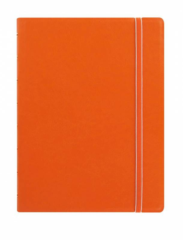Image of   Notebook Filofax A5 orange incl linierede blade
