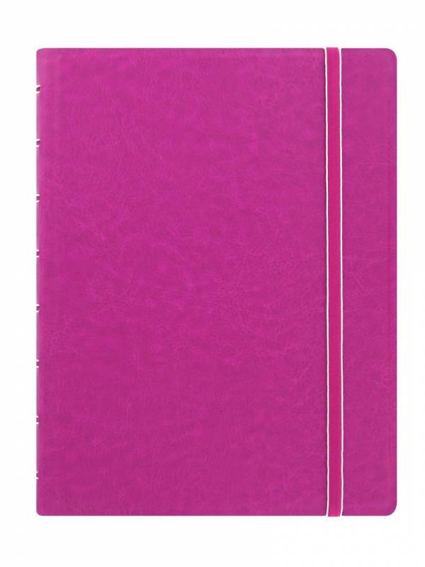 Image of   Notebook Filofax A5 fuchsia incl linierede blade
