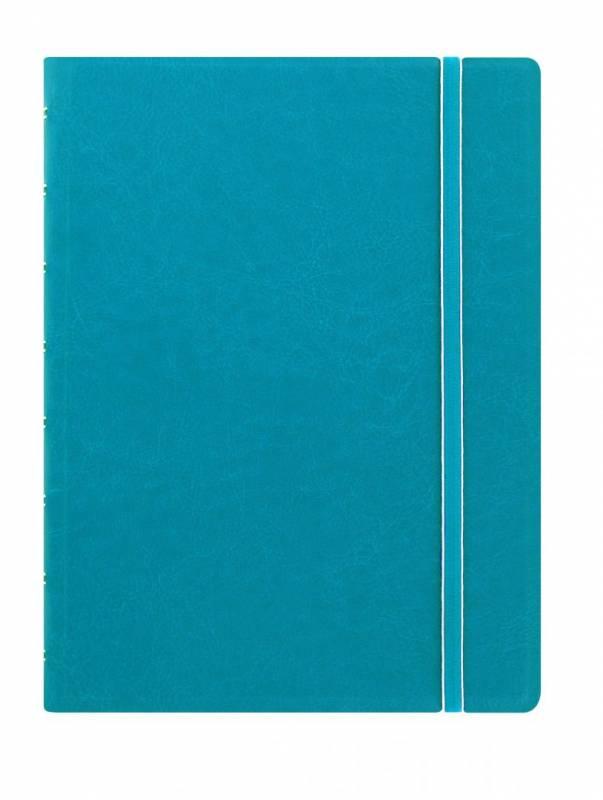 Image of   Notebook Filofax A5 aqua incl linierede blade
