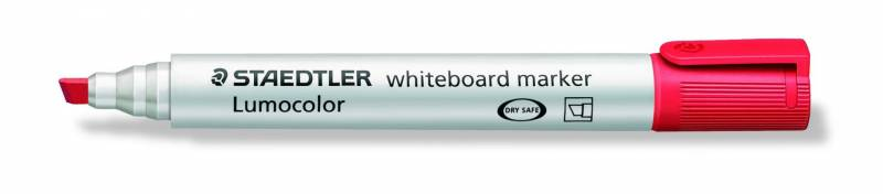 Image of   Whiteboardmarker Staedtler 2-5mm rød 351B-2