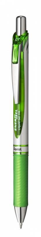 Image of   Rollerpen Pentel Energel lys grøn 0,7mm BL77