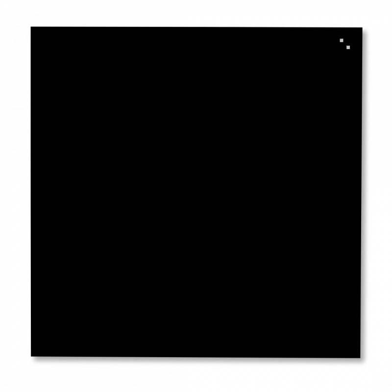 Image of   Glastavle Naga magnetisk 1000x1000mm sort