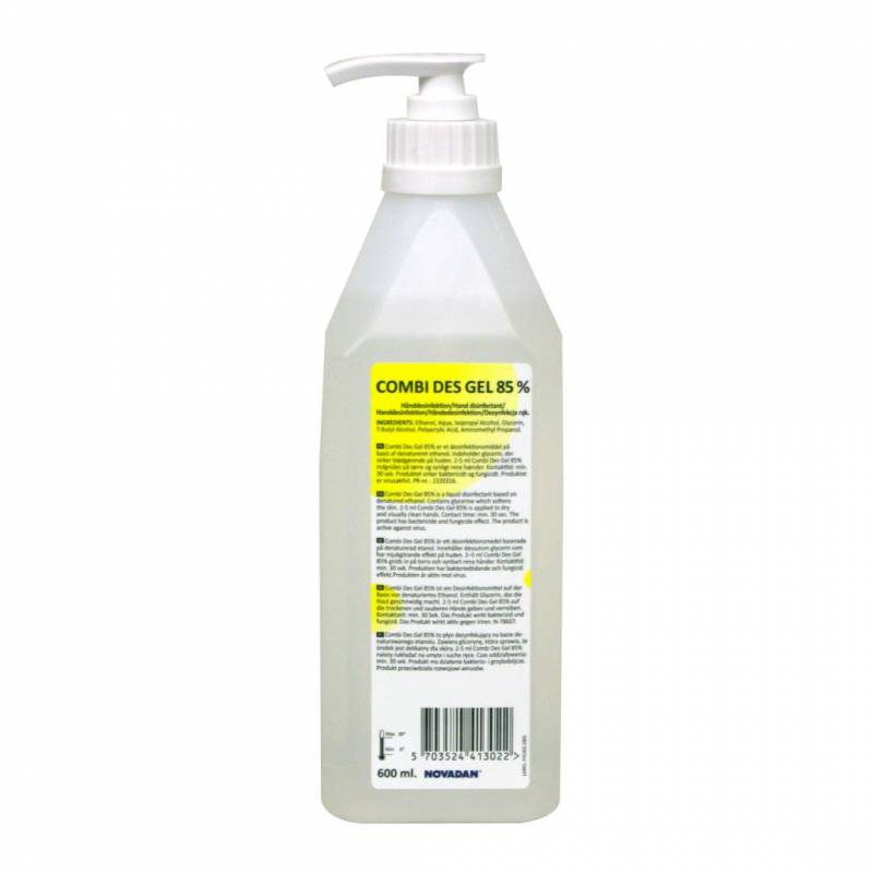 Image of   Hånddesinfektion Combi Des 85% Gel 600ml