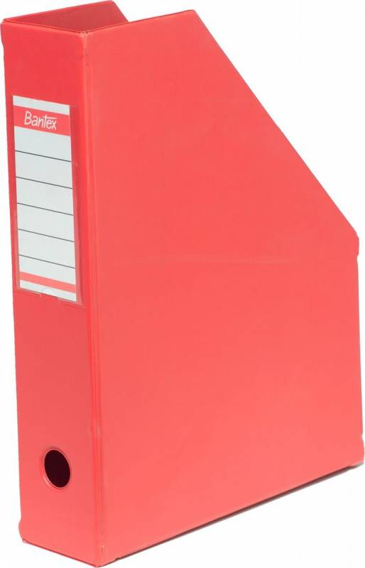 Billede af Tidsskriftskassetter Maxi rød A4 ELBA (4010)