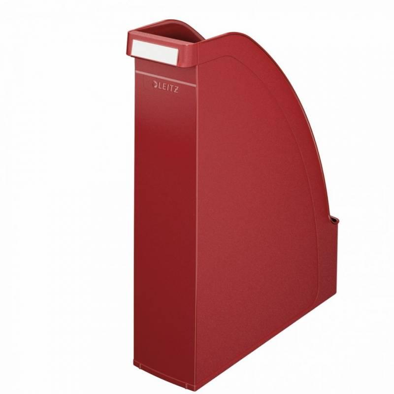 Billede af Tidsskriftsamler Leitz Plus A4 bredde 70mm rød