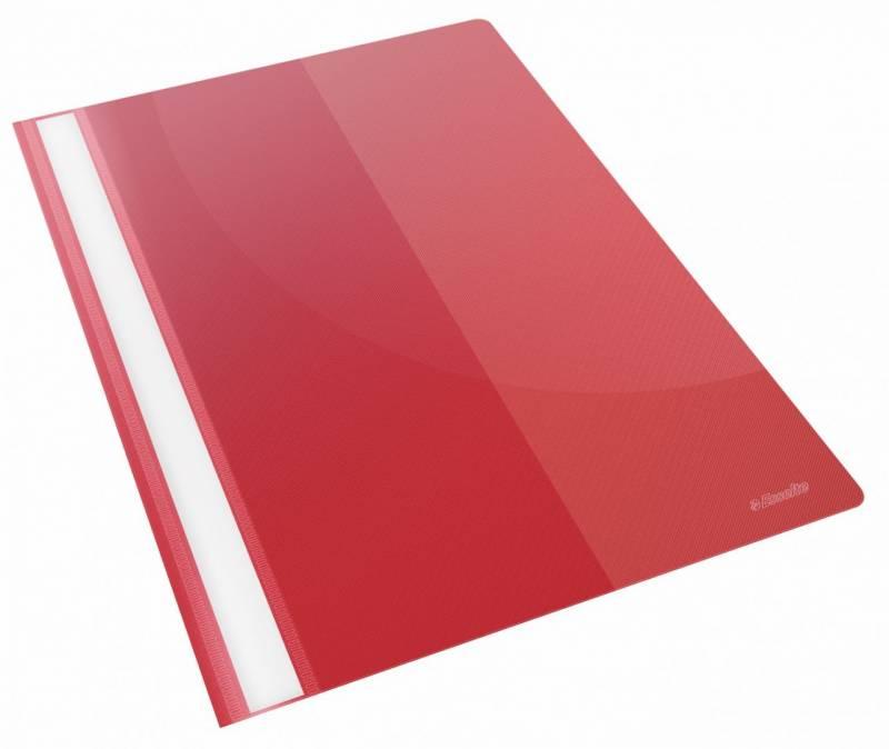 Tilbudsmappe Esselte PP rød A4 m/lomme 28340