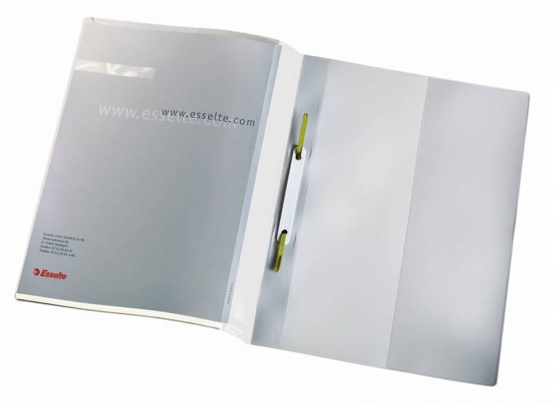 Billede af Tilbudsmappe Esselte m/lomme + dobb. forside hvid