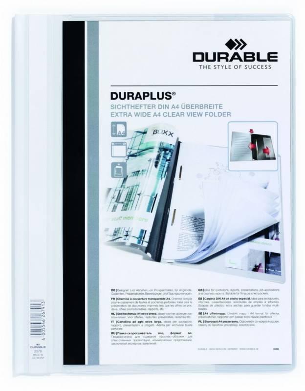 Billede af Tilbudsmapper A4 maxi hvid db. forside