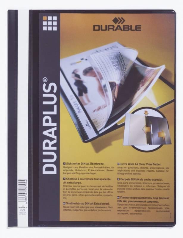 Billede af Tilbudsmapper A4 maxi sort db. forside