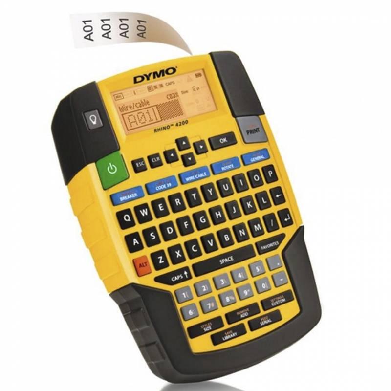 Image of   Labelprinter DYMO Rhino 4200 t/Rhino tape 6-19mm