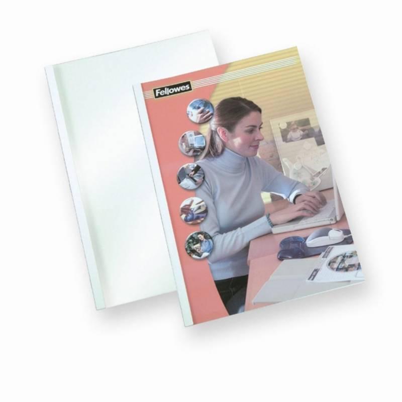 Image of   Limomslag Fellowes A4 8mm 71-90 sider 100stk/pak