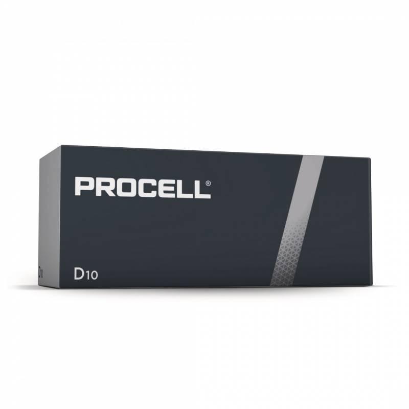 Image of   Batteri Procell Industrial D 10stk/pak