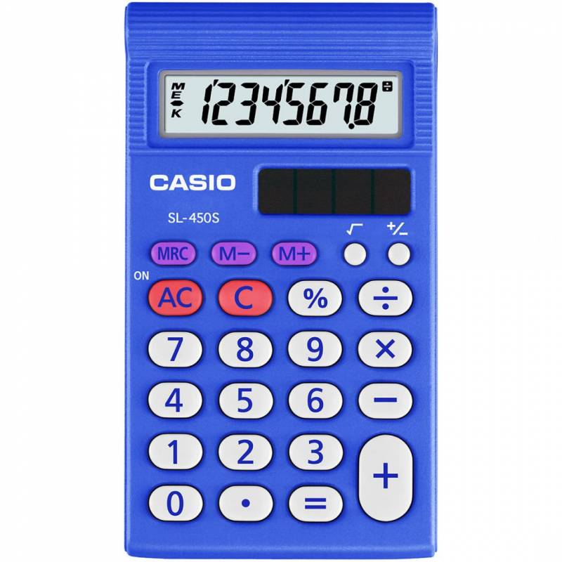 Image of   Lommeregner Casio SL-450S hardbox 8 cifre